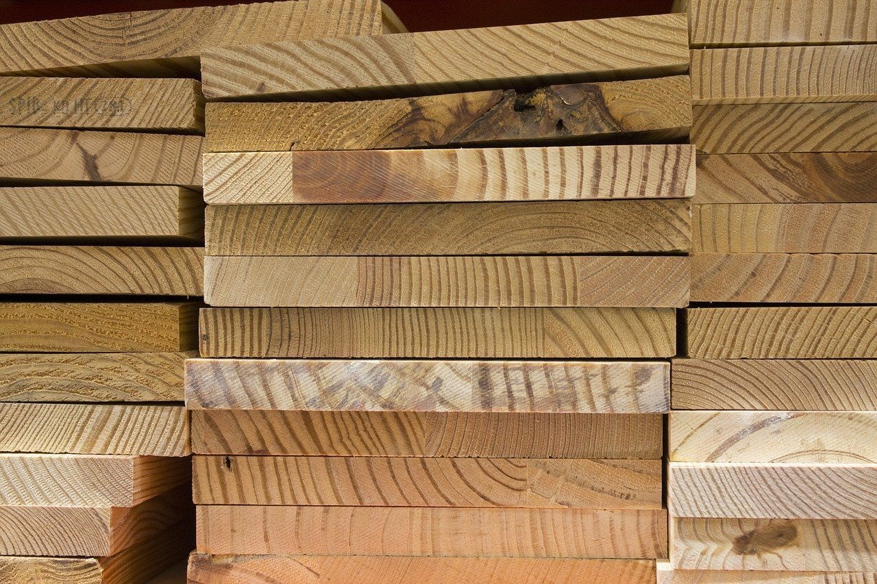 recycled wood materials can help improve construction projects while also protecting the environment