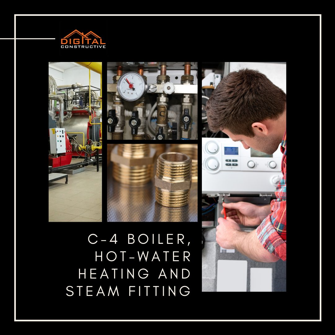 what can you do with a C-4 boiler license in California